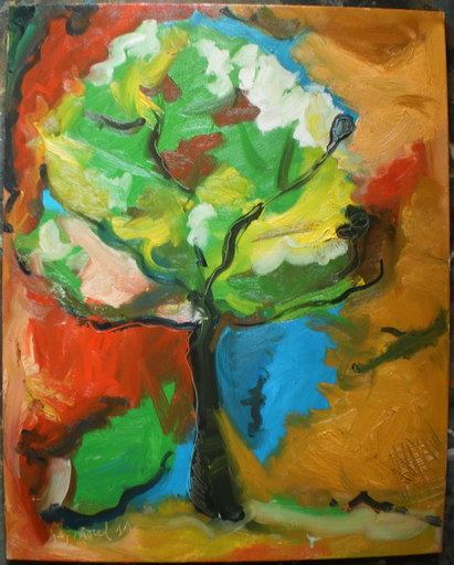 Bernard MOREL - Peinture - ARBRE
