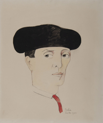 Francis PICABIA - Drawing-Watercolor - Toréador