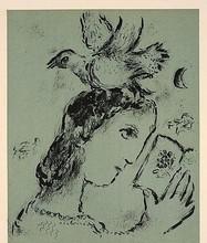 Marc CHAGALL (1887-1985) - ELSA TRIOLET
