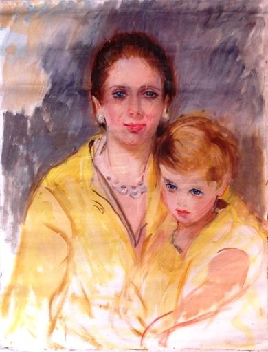 Marguerite Mary DARBOUR - Peinture - portrait princesse Grace KELLY