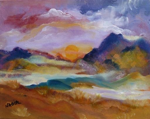 NADIA - Peinture - Gaia
