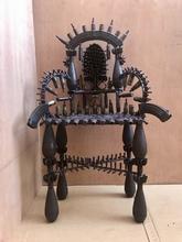 Gonçalo MABUNDA - Escultura - war Throne