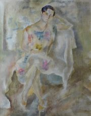 Jules PASCIN - Painting - Mija