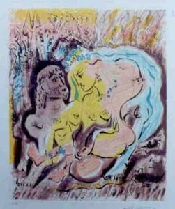 André MASSON - Print-Multiple - Ulysses et Circe's