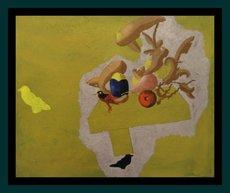 Jorge CASTILLO - Peinture - SIN TITULO