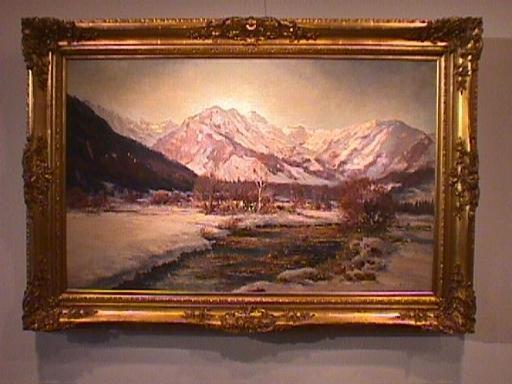 Josef KOCH - Pintura - Frühling bei Bayrischzell