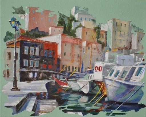 Diana KIROVA - Gemälde - Cycladik ailands