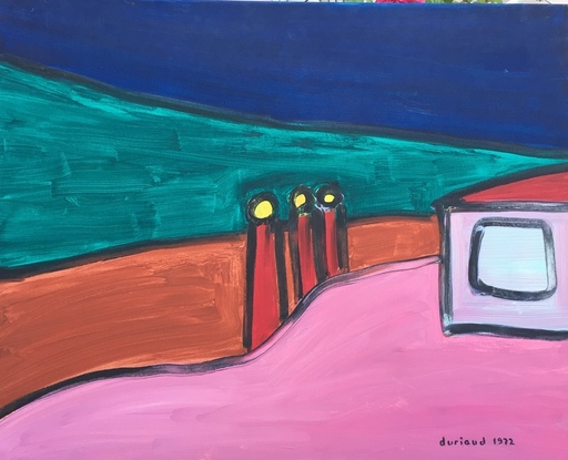 Christian DURIAUD - Pintura - Hopper's hope