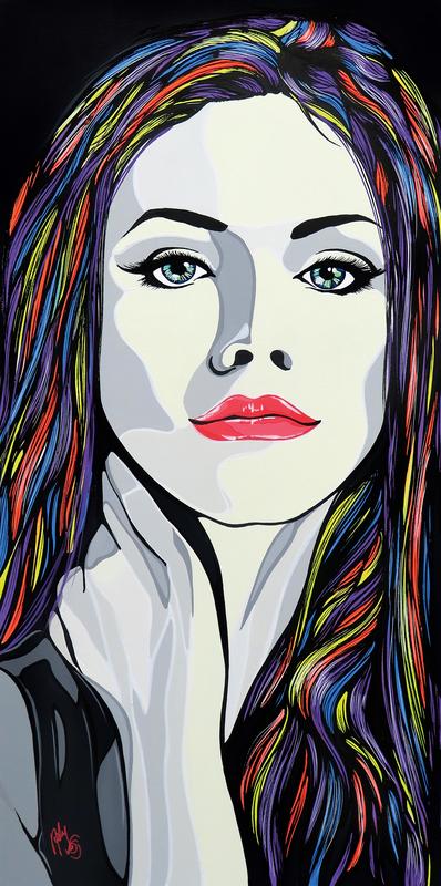 Andrea FUMAGALLI - Painting - Rebecca