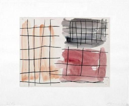 Günther FÖRG - Drawing-Watercolor - Unikat V