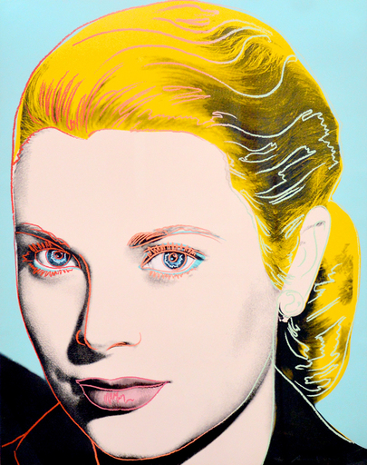 Andy WARHOL - Print-Multiple - Grace Kelly