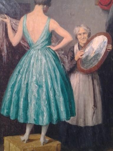 Willy VAN RIET - Peinture - Consoler les affligés