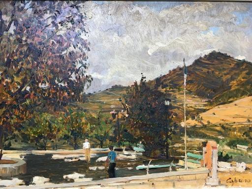 Marsiglio CAPRINO - Painting - Juego de Petanque