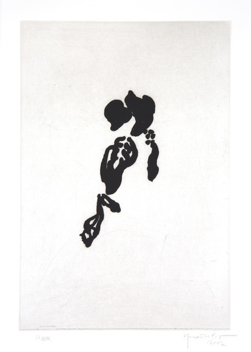 Joan HERNANDEZ PIJUAN - 版画 - Iris negre II