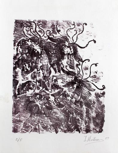 Isabel MORTERA - Stampa-Multiplo - Flores al viento
