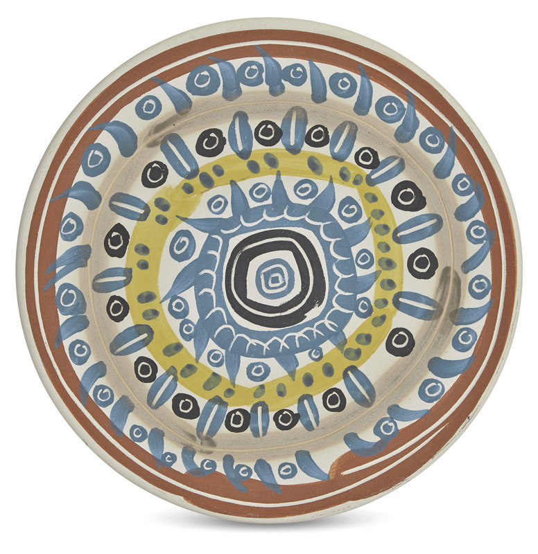 Pablo PICASSO - Ceramic - Motif spirale