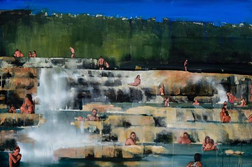 Daniele GALLIANO - Painting - Una Pazza Felicità
