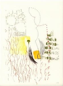 Isabel RUBIO - Dibujo Acuarela - S/T