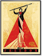 Shepard FAIREY - Print-Multiple - Artists for freedom