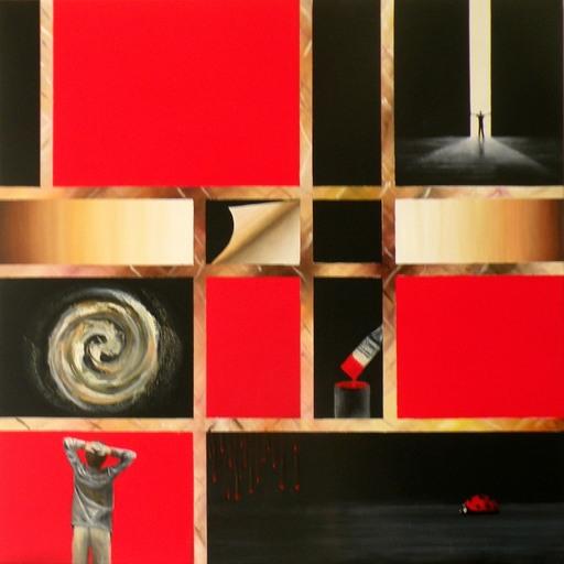 Frank GODILLE - Peinture - L'Ecologie : Abstraite ou Figurative ?
