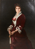 Eugène Antoine GUILLON - Painting - Eugène Antoine Guillon (1834-1914), Portrait, XIXe
