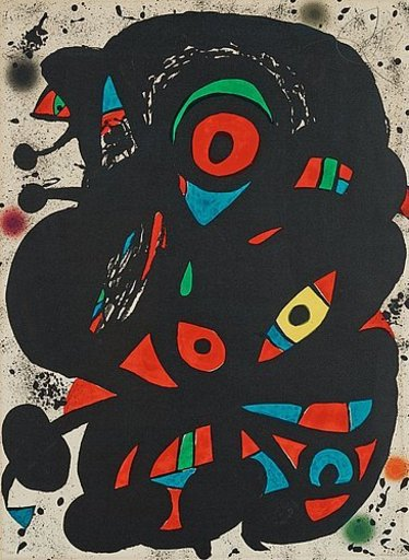 Joan MIRO - Estampe-Multiple - Strindberg mappen