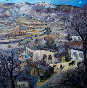 ZHENG Judy C. - Gemälde - Happy Childhood