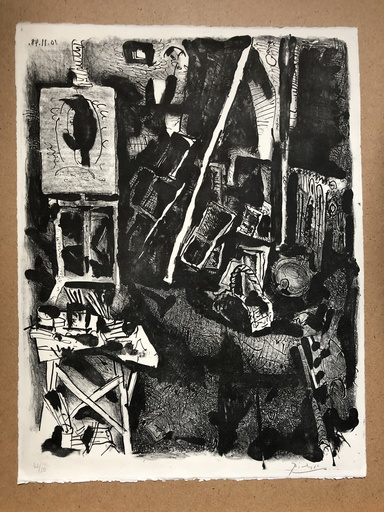 巴勃罗•毕加索 - 版画 - L ATELIER