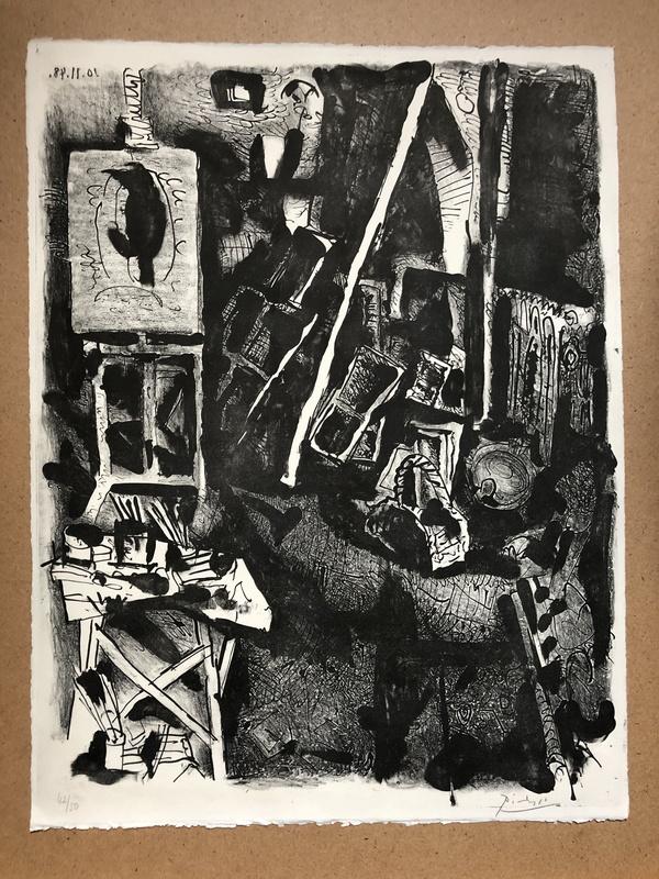 Pablo PICASSO - Print-Multiple - L ATELIER