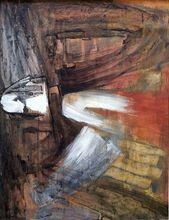 Michael ARGOV - Pintura - Abstract Composition