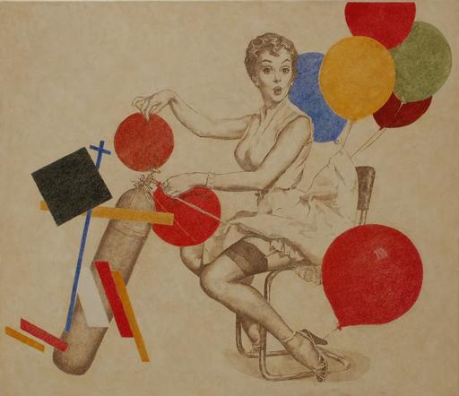 Vladimir KOLESNIKOV - Pintura - Suprematism