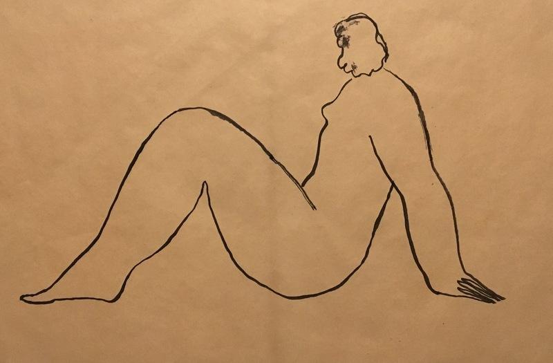SAN Yu - Drawing-Watercolor - Nu Assis