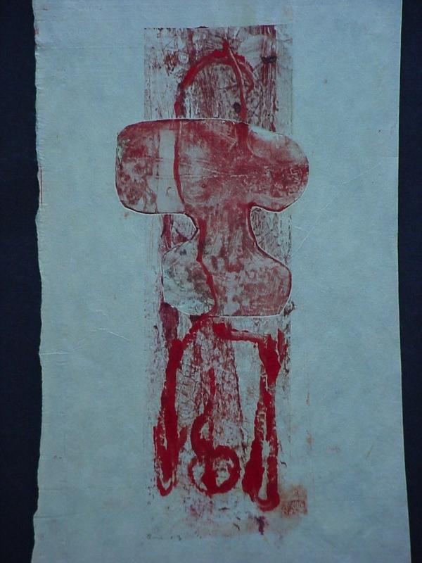 Adolf BENCA - Druckgrafik-Multiple - The Crucifix