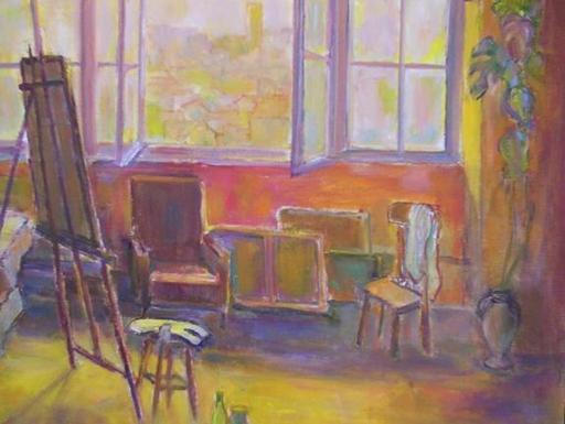 Louis ARNOUX - Pintura - L'Atelier