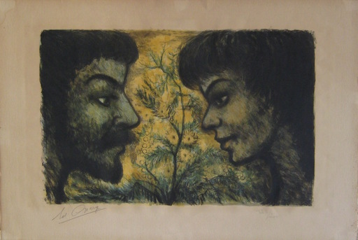 Edouard Joseph GOERG - Stampa-Multiplo - LITHOGRAPHIE SIGNÉE AU CRAYON NUM/200 HANDSIGNED LITHOGRAPH