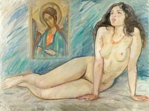 Boris Anatolievich SHOLOKOV - Pintura - Pray