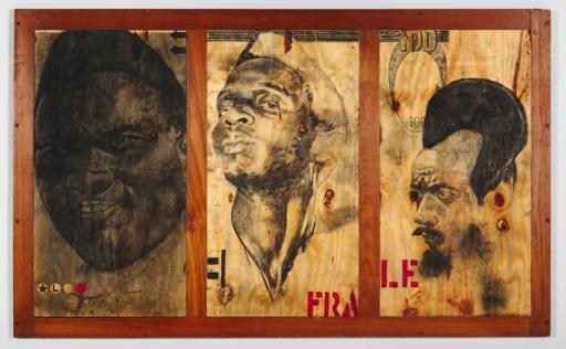 Serge Alain NITEGEKA - Pintura - Untitled