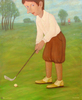 Roman ANTONOV - Pittura - Plays golf