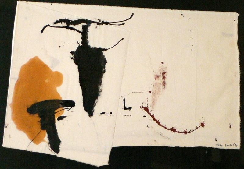 Tony SOULIÉ - Pintura - The black grape