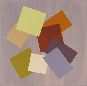 Milly RISTVEDT - Peinture - Grey Grid