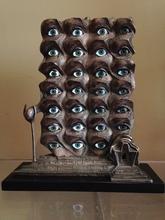 萨尔瓦多·达利 - 雕塑 - Les yeux surréalistes