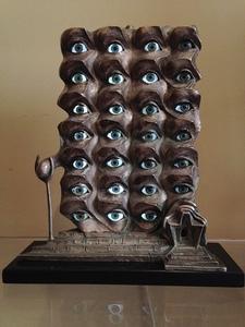 Salvador DALI - Sculpture-Volume - Les yeux surréalistes