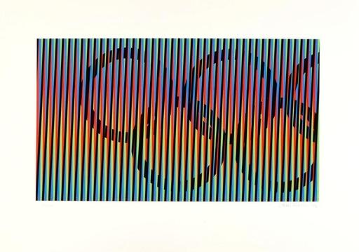 卡洛斯•克鲁兹-迭斯 - 版画 - Composition pour les jeux olympiques