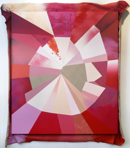 Kim FISHER - Pintura - Damaged (pink)