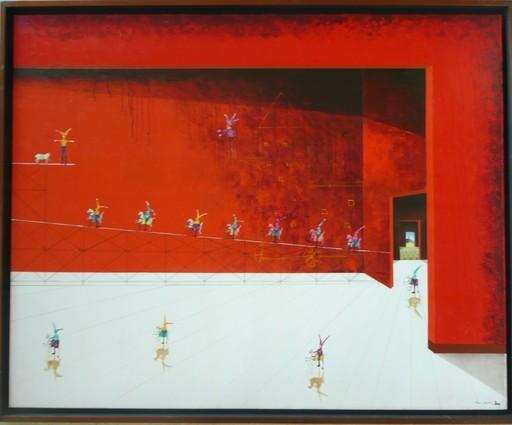 Trino SANCHEZ - Gemälde - PORTAR ROJO