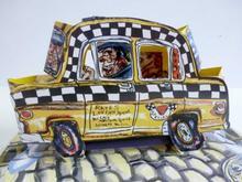 Red GROOMS - Estampe-Multiple - Ruckus Taxi (Mini)