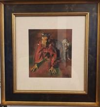 Corneliu BABA - Painting - Mad king