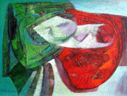 Raul ENMANUEL - Pintura - La Cola