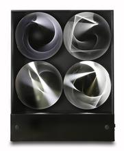 Julio LE PARC - Escultura - Continuel Lumière à 4 cilindres