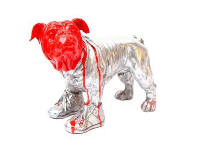 William SWEETLOVE - Sculpture-Volume - Cloned aluminum Bouly with red head